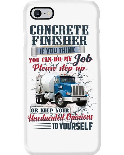 Concrete Finisher If YOu Think You Can Do my Job
