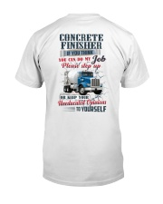 Concrete Finisher If YOu Think You Can Do my Job Classic T-Shirt thumbnail