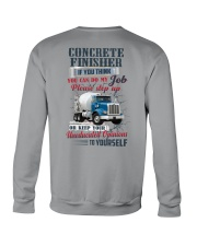 Concrete Finisher If YOu Think You Can Do my Job Crewneck Sweatshirt thumbnail
