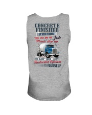 Concrete Finisher If YOu Think You Can Do my Job Unisex Tank thumbnail