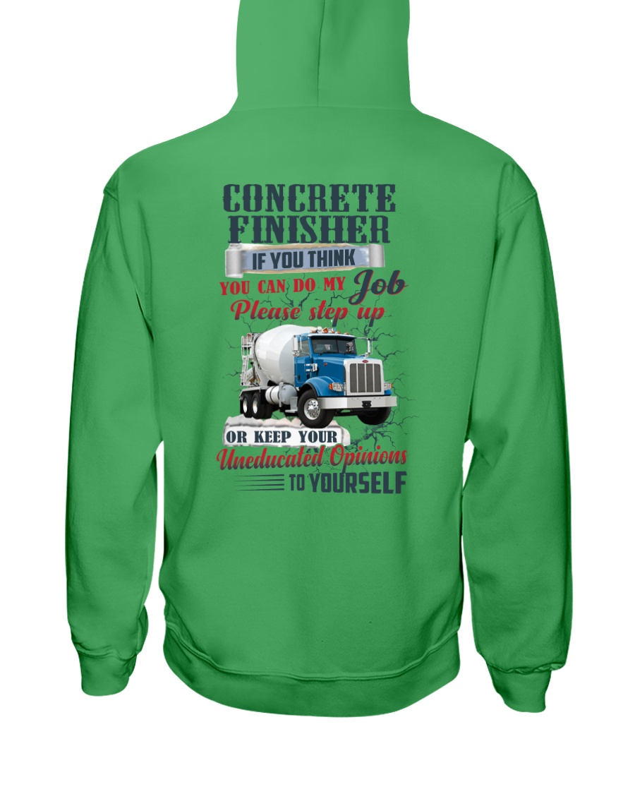 Concrete Finisher If YOu Think You Can Do my Job Hooded Sweatshirt