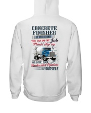 Concrete Finisher If YOu Think You Can Do my Job Hooded Sweatshirt thumbnail
