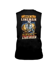 once A Lineman Always A Lineman Sleeveless Tee thumbnail