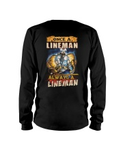 once A Lineman Always A Lineman Long Sleeve Tee thumbnail