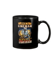 once A Lineman Always A Lineman Mug thumbnail