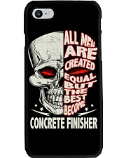 Concrete Finisher All Men Are Created Equal Phone Case thumbnail