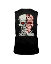 Concrete Finisher All Men Are Created Equal Sleeveless Tee thumbnail