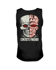 Concrete Finisher All Men Are Created Equal Unisex Tank thumbnail