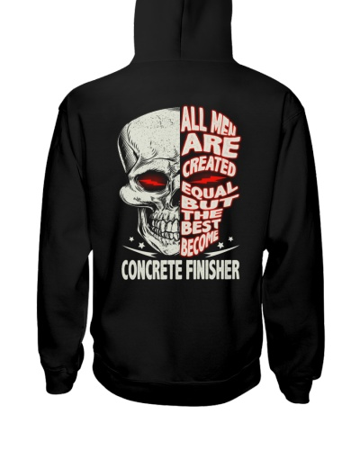 Concrete Finisher All Men Are Created Equal