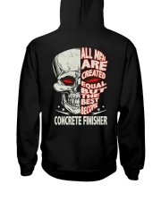 Concrete Finisher All Men Are Created Equal Hooded Sweatshirt thumbnail