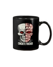 Concrete Finisher All Men Are Created Equal Mug thumbnail