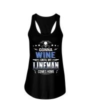Gonna Wine Lineman Ladies Flowy Tank thumbnail