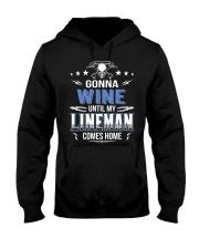 Gonna Wine Lineman Hooded Sweatshirt thumbnail