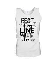 Best Effing Line Wife Ever Unisex Tank thumbnail