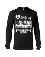Wife Of Lineman Long Sleeve Tee thumbnail