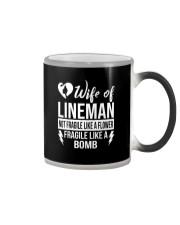 Wife Of Lineman Color Changing Mug thumbnail