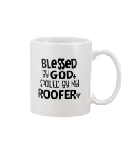 Blessed By God Spoiled by My Roofer Mug thumbnail