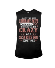 I Have The Best Lineman's wife In The World Sleeveless Tee thumbnail