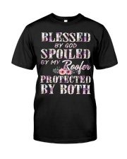 Blessed by God Spoiled By My Roofer Classic T-Shirt thumbnail