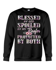 Blessed by God Spoiled By My Roofer Crewneck Sweatshirt thumbnail