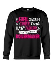 Boilermaker Girl Crewneck Sweatshirt thumbnail