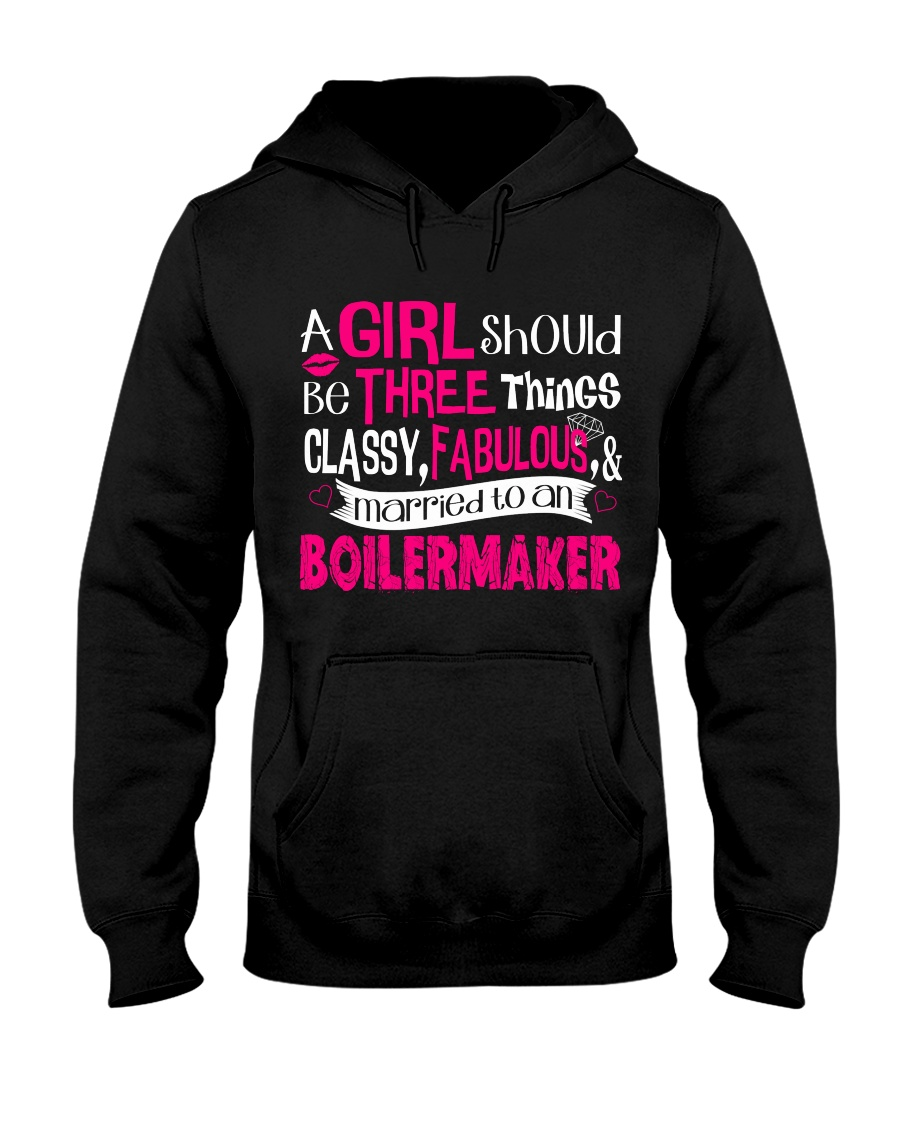 Boilermaker Girl Hooded Sweatshirt