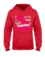 Boilermaker Girl Hooded Sweatshirt front