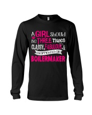 Boilermaker Girl Long Sleeve Tee thumbnail