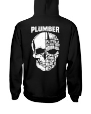 Plumber Skull Hooded Sweatshirt back