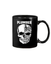 Plumber Skull Mug front