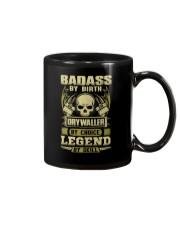 Badass By Birth Drywaller By Choice Legend  Mug thumbnail