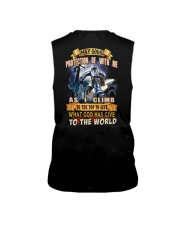May gods protection be with me as i climb Sleeveless Tee tile