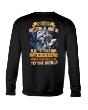 May gods protection be with me as i climb Crewneck Sweatshirt tile
