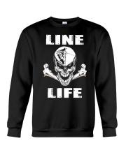 Lineman Life Skull Crewneck Sweatshirt thumbnail