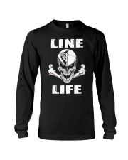 Lineman Life Skull Long Sleeve Tee thumbnail