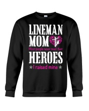Lineman Mom Crewneck Sweatshirt thumbnail