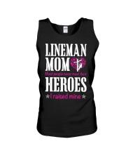 Lineman Mom Unisex Tank thumbnail
