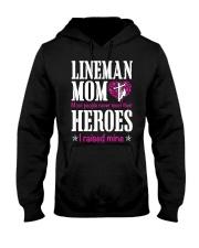 Lineman Mom Hooded Sweatshirt front