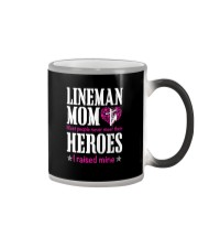 Lineman Mom Color Changing Mug thumbnail