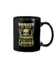 Badass By Birth Plumber By Choice Legend  Mug thumbnail