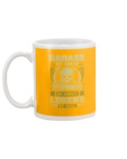 Badass By Birth Plumber By Choice Legend  Mug back