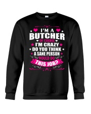 I am A Butcher Of Course Crewneck Sweatshirt thumbnail