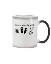 I am a simple girl Color Changing Mug thumbnail