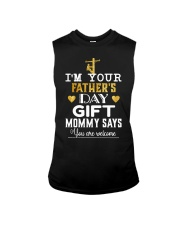 Lineman Father's Day Sleeveless Tee thumbnail