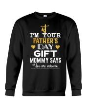 Lineman Father's Day Crewneck Sweatshirt thumbnail