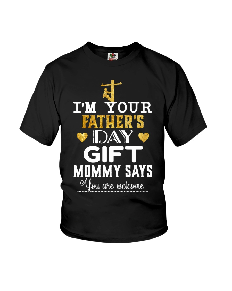 Lineman Father's Day Youth T-Shirt