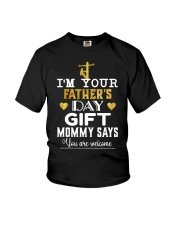 Lineman Father's Day Youth T-Shirt front