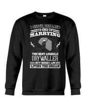 The Best Asshole Drywaller Crewneck Sweatshirt thumbnail