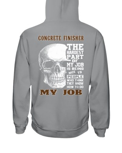 Concrete Finisher The Hardest Part Of My Job