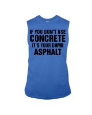 LIMITED CONCRETE FINISHER SHIRT Sleeveless Tee tile